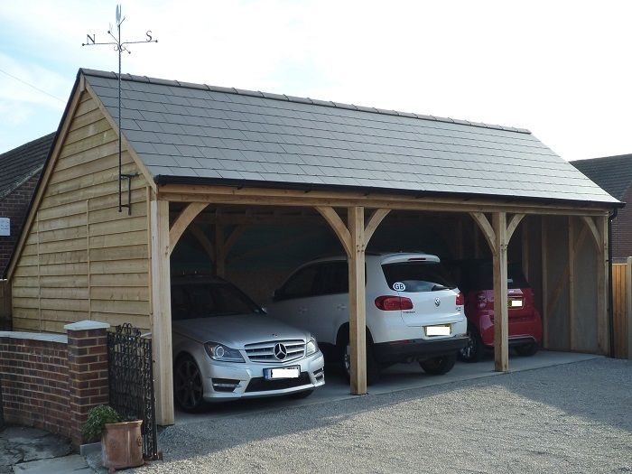 Open Barn Garages