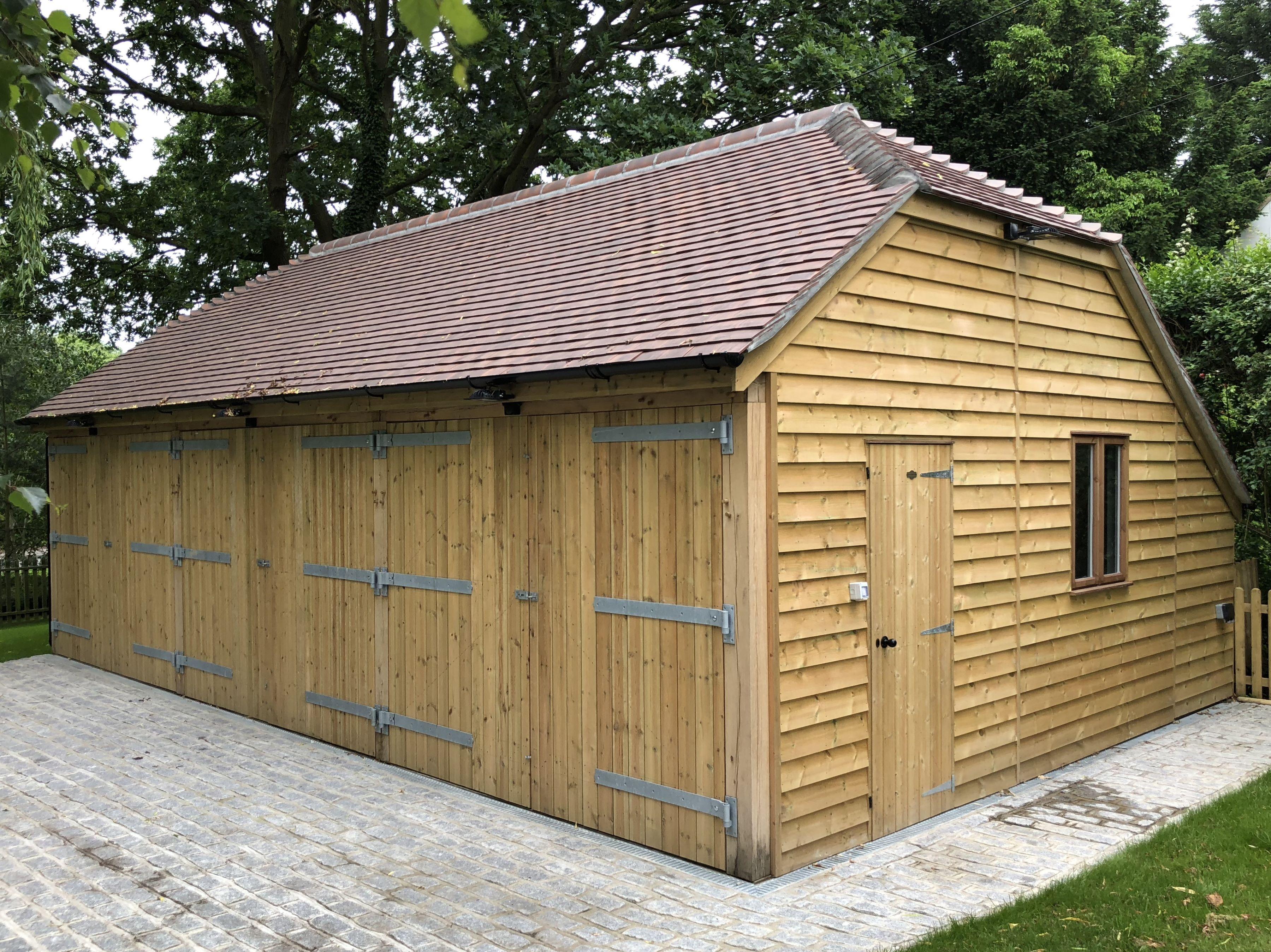 Passmores Car Barn Garages Timber Open Barn Timber Car Ports