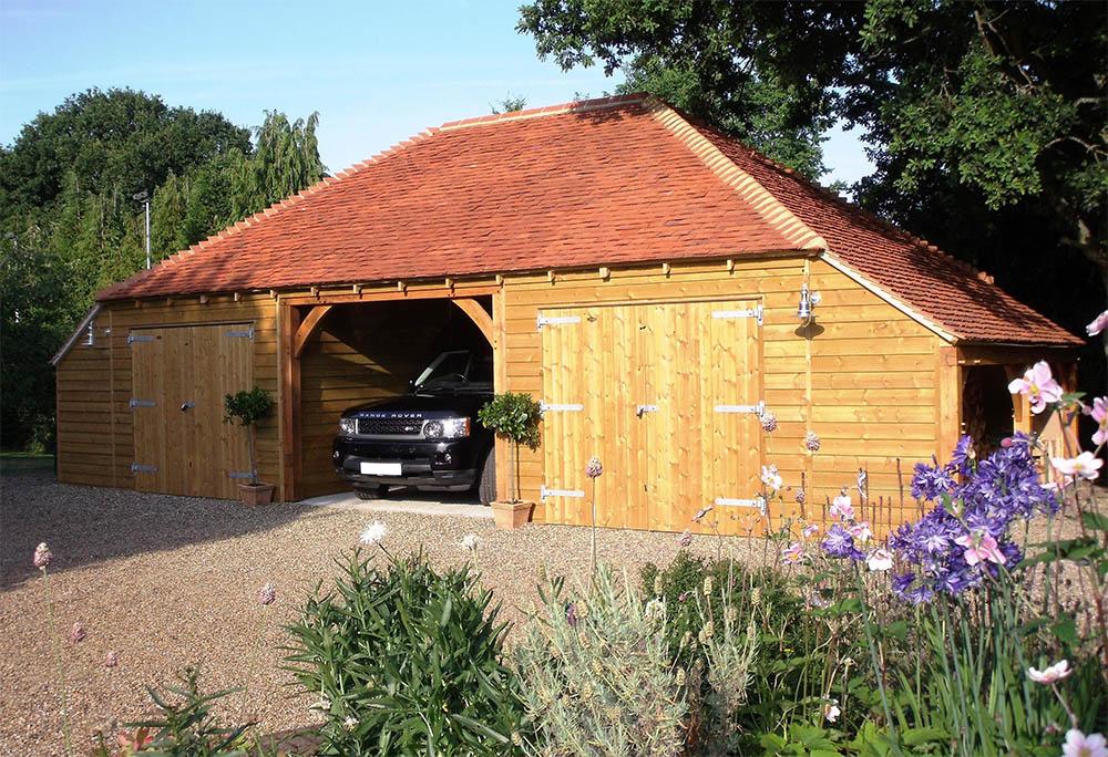 3-bay Timber Garage